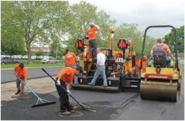 Street Department Paving